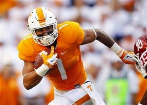 University of Tennessee  running back Jalen Hurd (Associated Press)